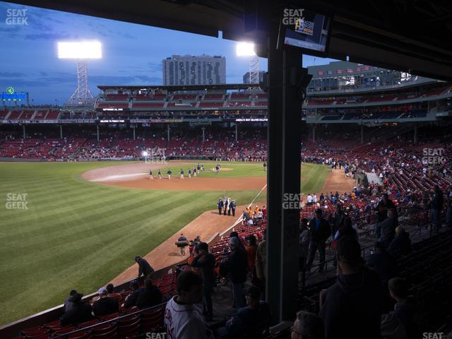 Fenway Park Outfield Grandstand 33 view