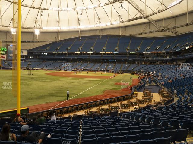 Tropicana Field Section 137 view