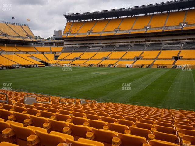 Heinz Field Section 137 view