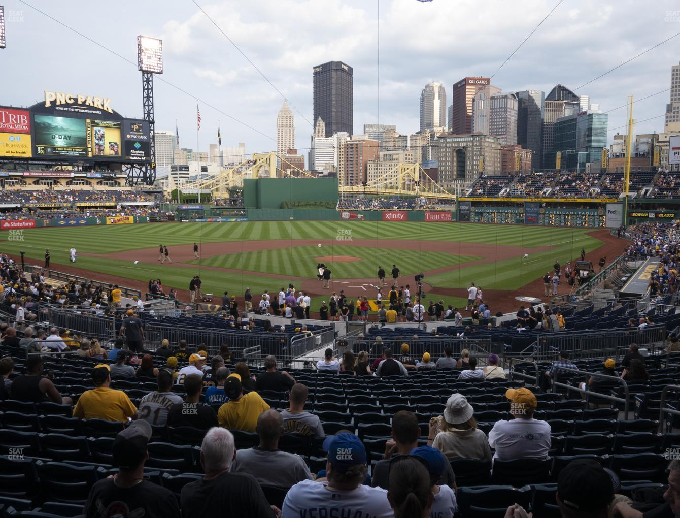 Pittsburgh Pirates at PNC Park Section 117 View