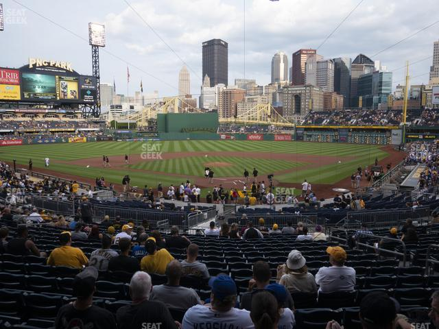 PNC Park Section 117 view