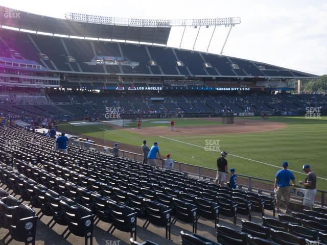 Kauffman Stadium Section 143 view