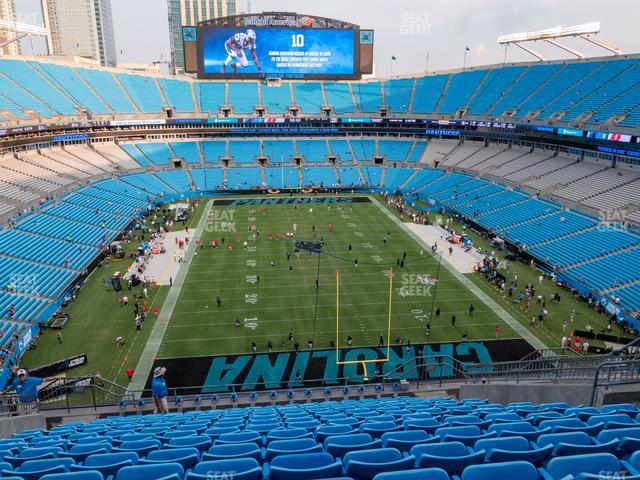 Bank of America Stadium Section 502 view