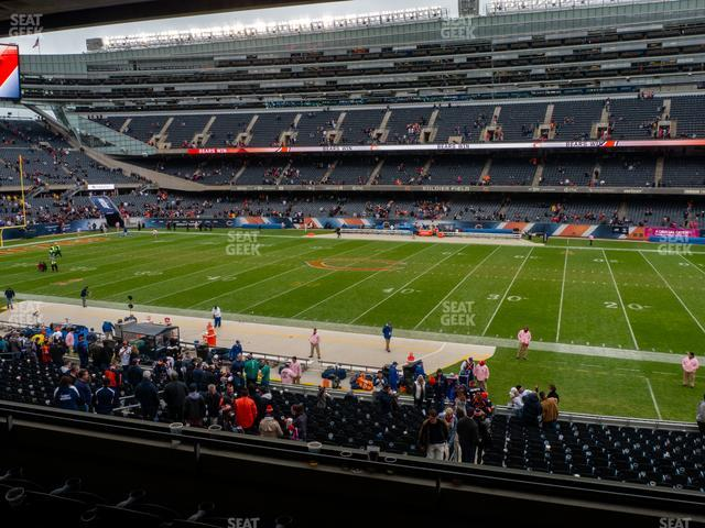Soldier Field Section 234 view