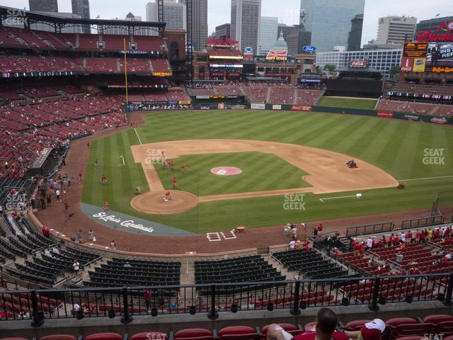 Busch Stadium Home Redbird Club 247 view