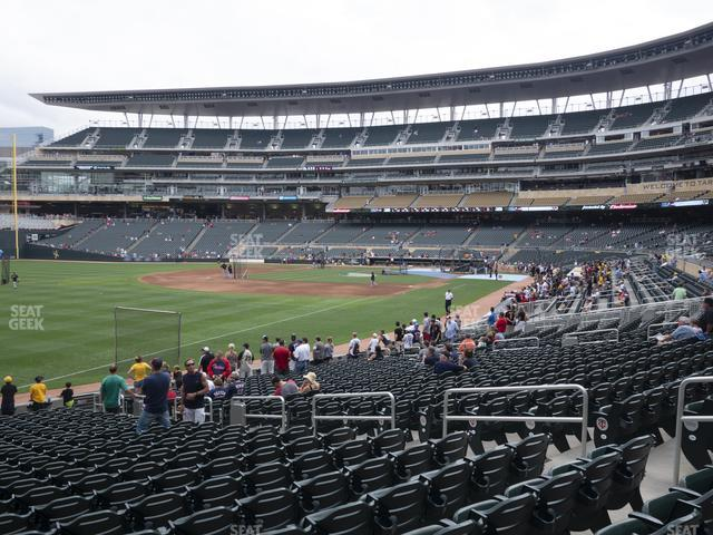 Target Field Section 126 view