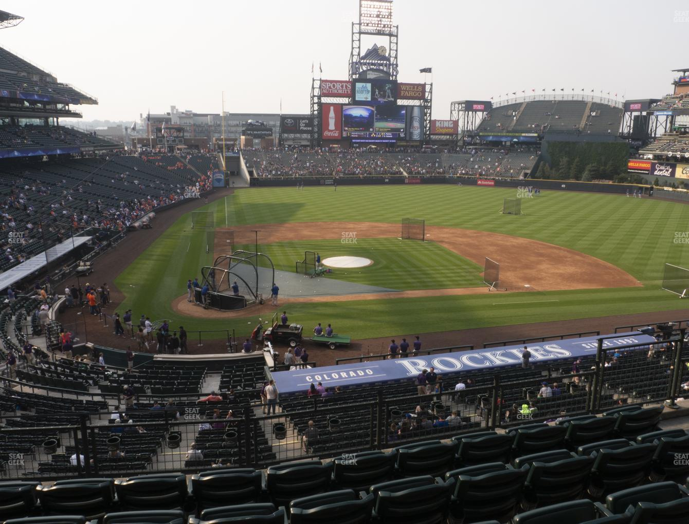 Colorado Rockies at Coors Field Section 226 View