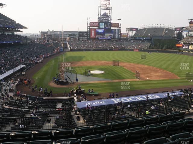 Coors Field Section 226 view