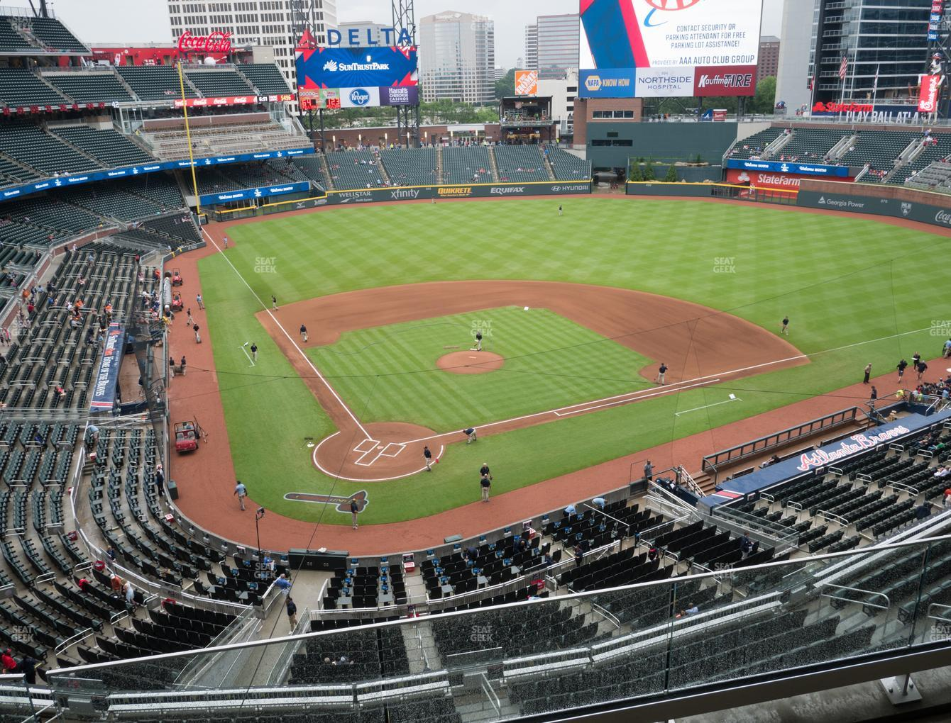 Atlanta Braves at SunTrust Park Section 324 View