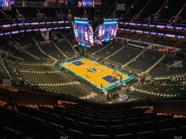 Spectrum Center Section 221 view