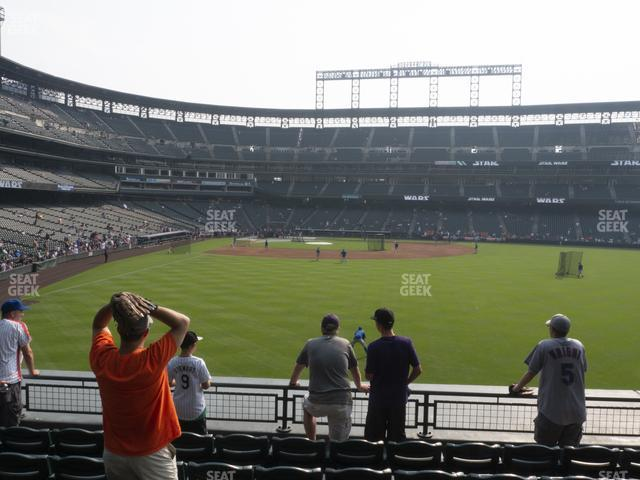 Coors Field Section 106 view