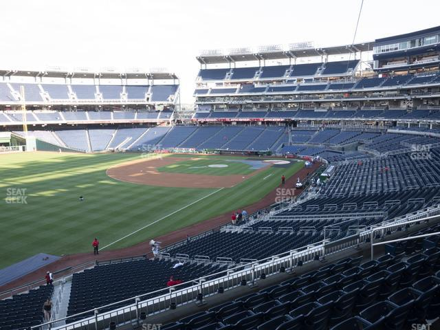 Nationals Park Section 202 view