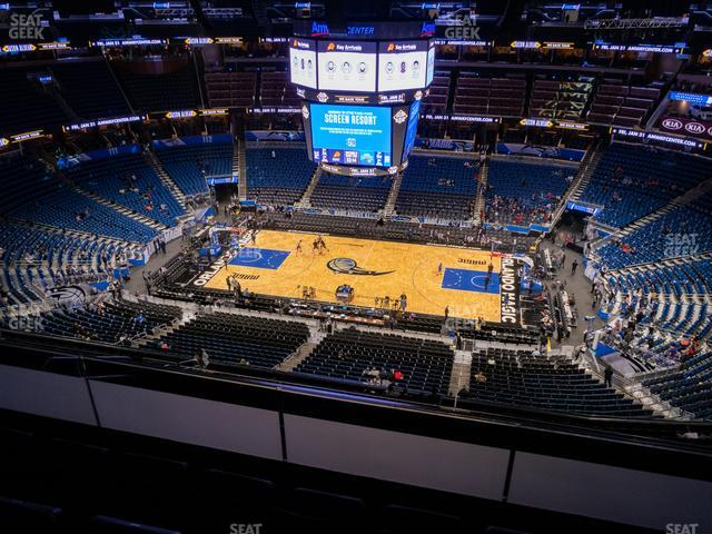Amway Center Section 208 view