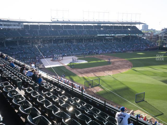 Wrigley Field 331 Right view