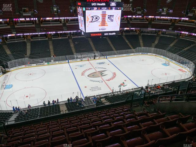 Honda Center Section 413 view