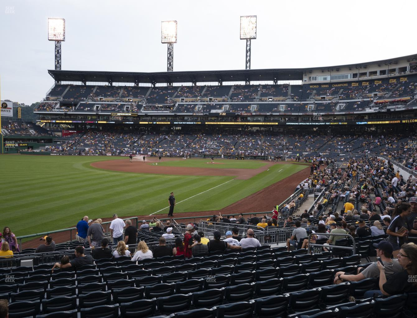 Pittsburgh Pirates at PNC Park Section 131 View