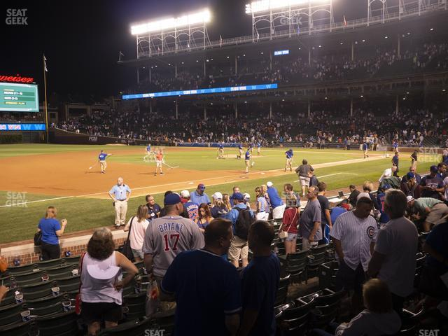 Wrigley Field Club Box Infield 9 view