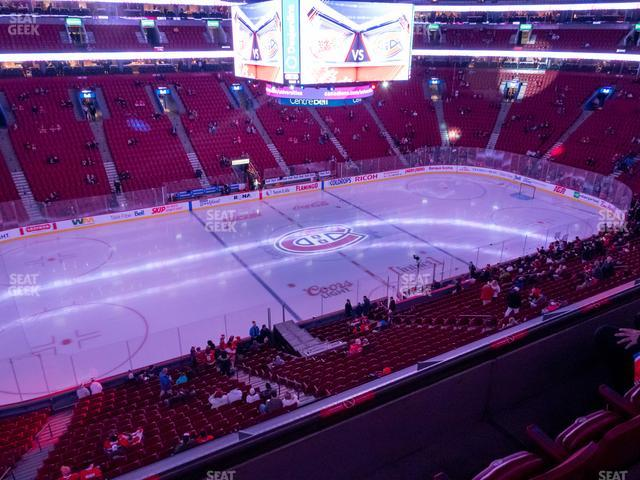 Bell Centre Section 215 view