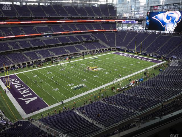 U.S. Bank Stadium Section 317 view