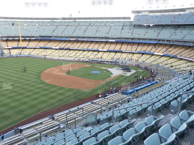 Dodger Stadium Reserve 39 view