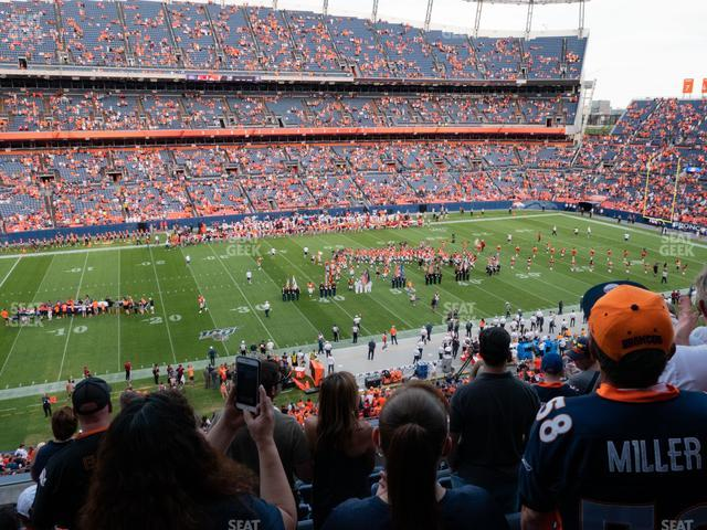 Empower FIeld at Mile High Section 312 view