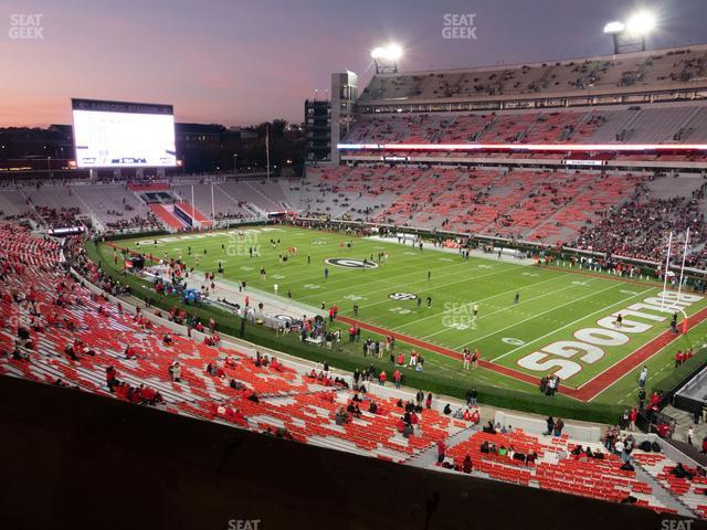Sanford Stadium Section 226 view