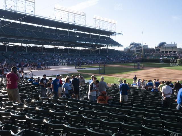 Wrigley Field Section 126 view