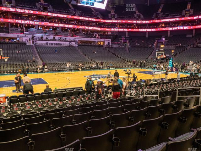 Spectrum Center Section 106 view