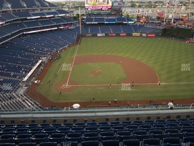 Citizens Bank Park Section 416 view