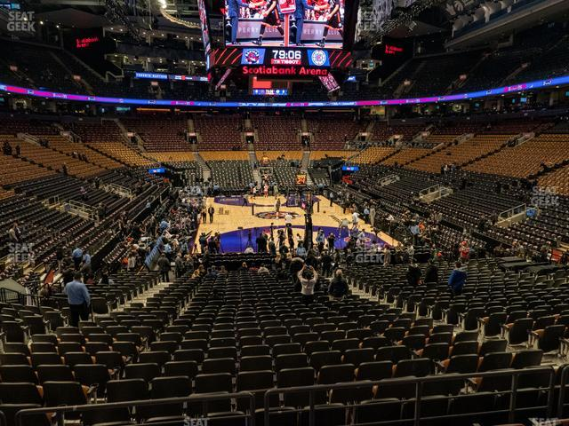 Scotiabank Arena Section 114 view