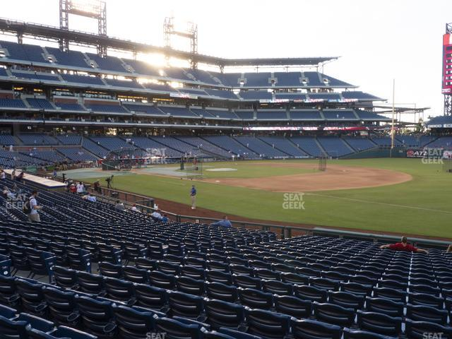 Citizens Bank Park Section 112 view
