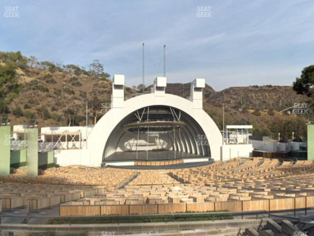 Hollywood Bowl Section J 2 view