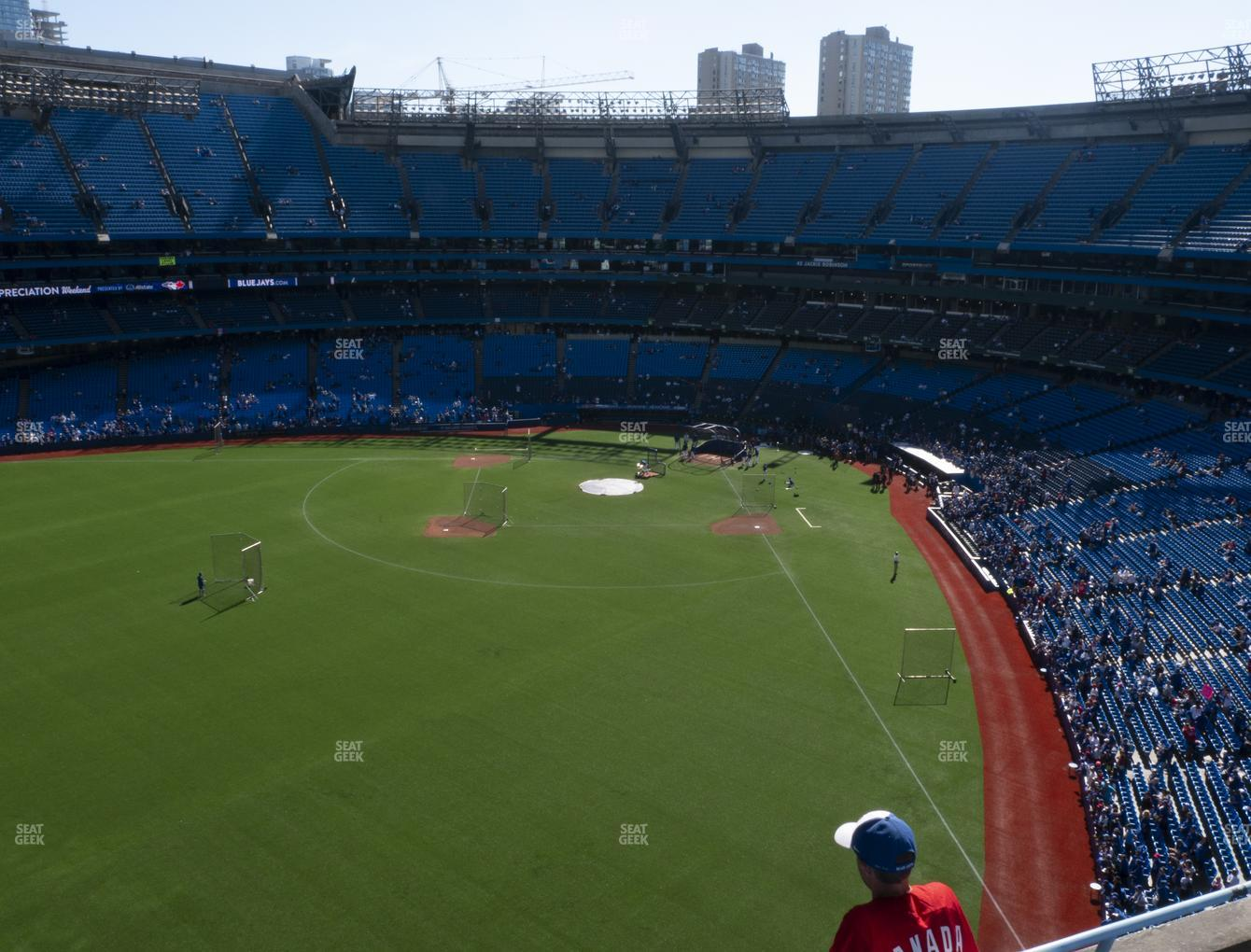 Toronto Blue Jays at Rogers Centre Section 541 R View