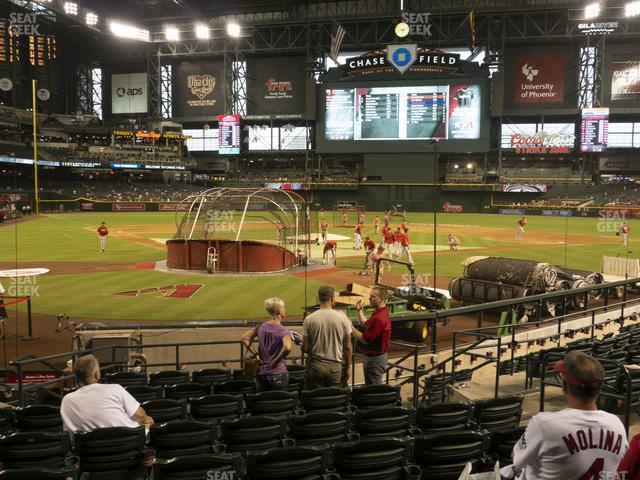 Chase Field Section I view