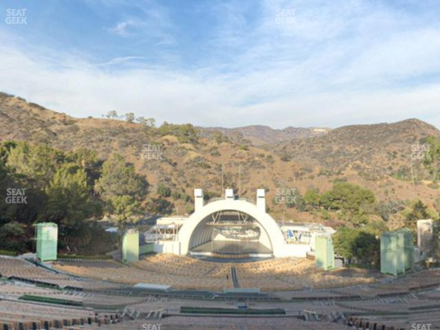 Hollywood Bowl Section W 3 view