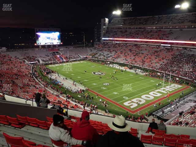 Sanford Stadium Section 325 view
