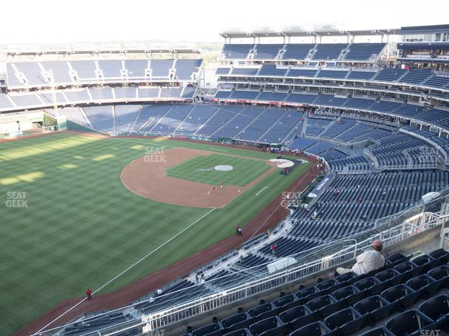 Nationals Park Section 402 view