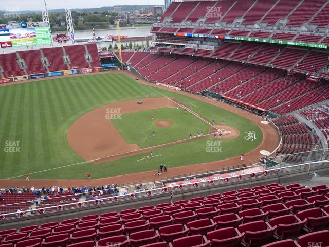Great American Ball Park Section 516 view