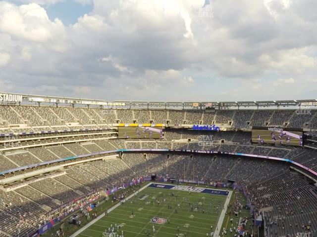 MetLife Stadium Section 348 view
