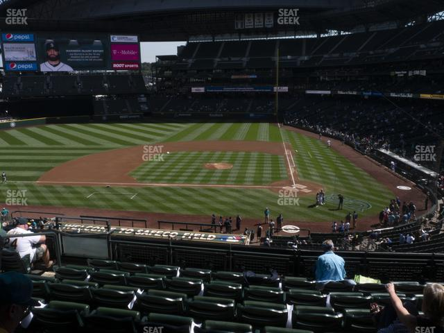 T-Mobile Park Section 234 view