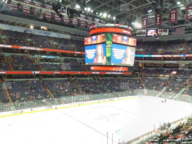 Capital One Arena Section 227 view