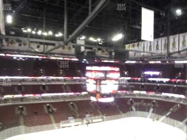United Center Section 320 view