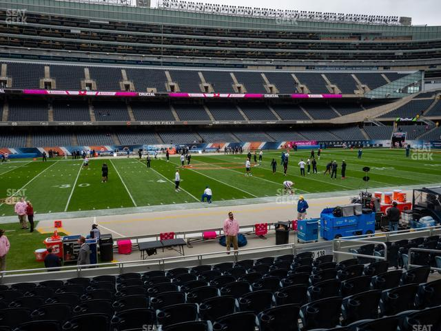 Soldier Field Section 140 view