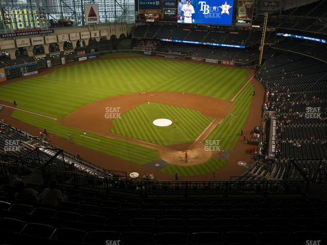 Minute Maid Park Section 417 view