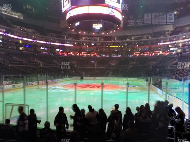 Staples Center Section 106 view