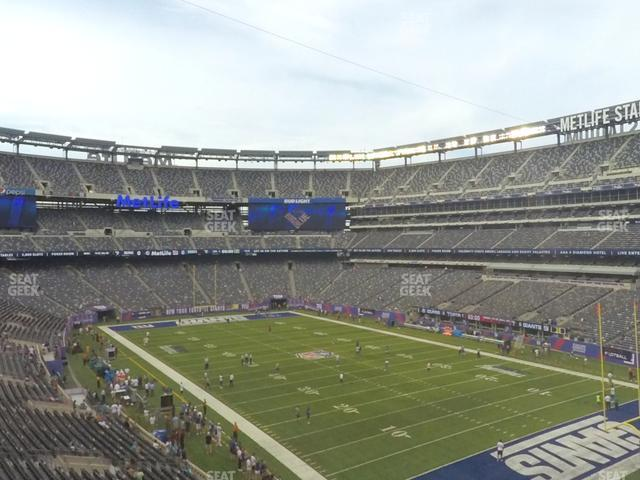 MetLife Stadium Section 231 A view
