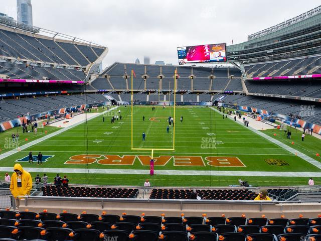 Soldier Field Section 222 view