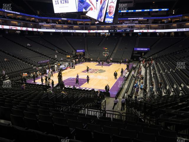 Golden 1 Center Section 125 view