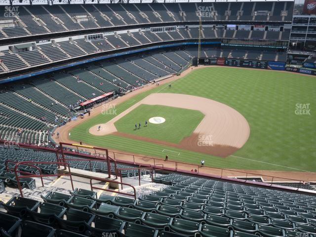 Globe Life Park Section 335 view