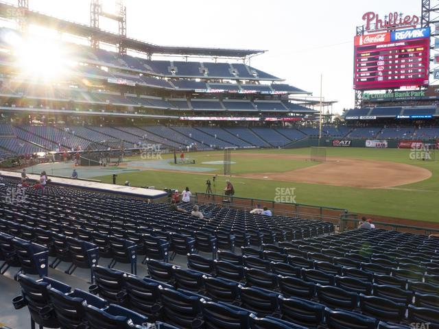 Citizens Bank Park Section 114 view